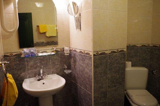 Hotel Villa Diana: bathroom