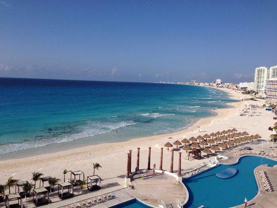 Krystal Cancun: ホテルからの眺め