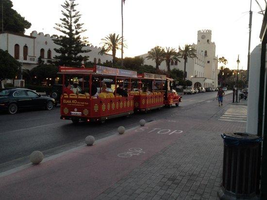Grecotel Kos Imperial Hotel: Обзорный поезд.