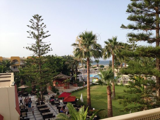 Hotel Abou Sofiane : View from room