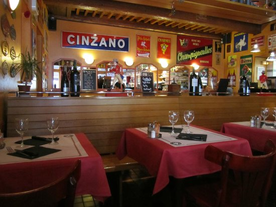 L'Os a Moelle: salle du restaurant