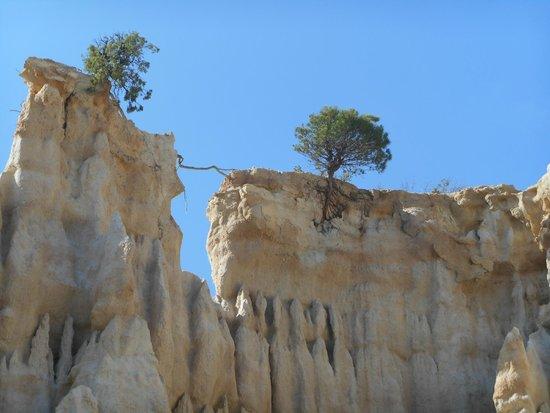 Orgues d'Ille Sur Tet: Erosition