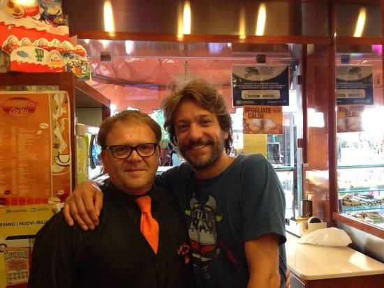 Gran Caffe Ciorfito : Con Sergio Assise