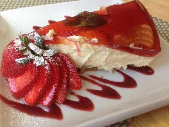 Greengages Cafe: Pimms cheesecake