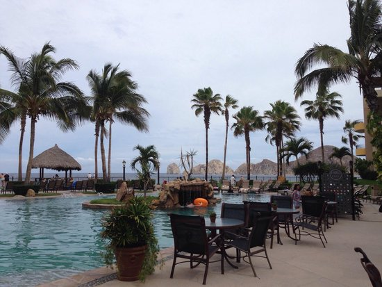 Villa La Estancia Beach Resort & Spa Los Cabos: Very impressed with the setup. Great for lunch!!