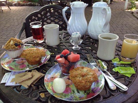 Market Street Inn : Perfect portion breakfasts.