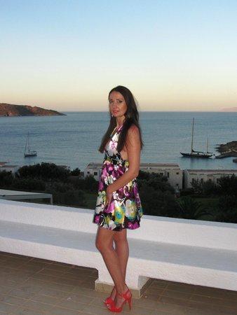 Porto Elounda Golf & Spa Resort : Красивый закат)