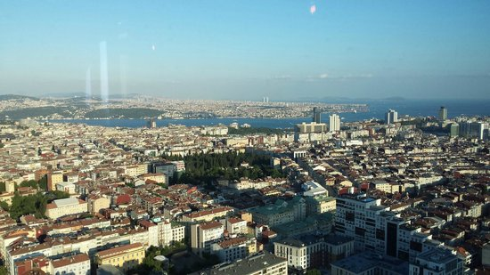 Hilton Istanbul Bomonti Hotel & Conference Center: From my room