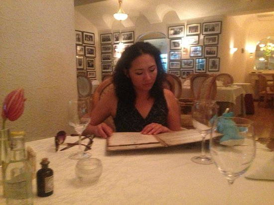Riviera Restaurant: Trying to figure out the confusing menu.