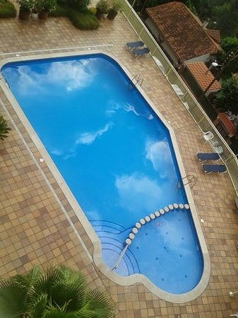 Hotel Can Fisa: Swimming pool - view from room 501