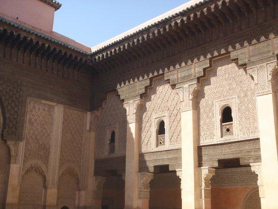 Ali Ben Youssef Medersa (Madrasa) : Extérieur 1er étage
