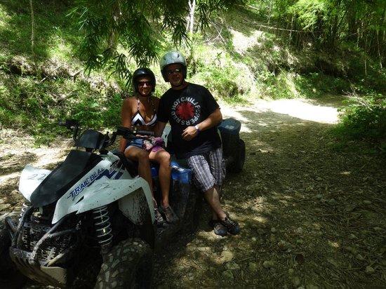 Chukka Caribbean Adventures : 4 wheeler sights