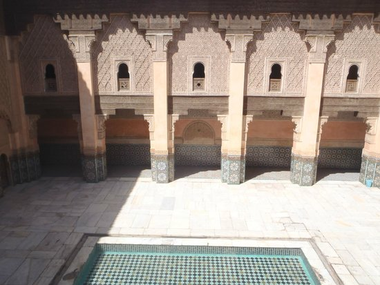 Ali Ben Youssef Medersa (Madrasa) : Cour intérieure