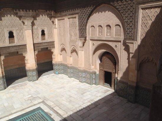 Ali Ben Youssef Medersa (Madrasa) : Cour intérieur