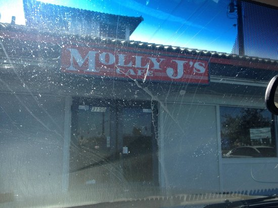 Molly J's: From behind the windshield
