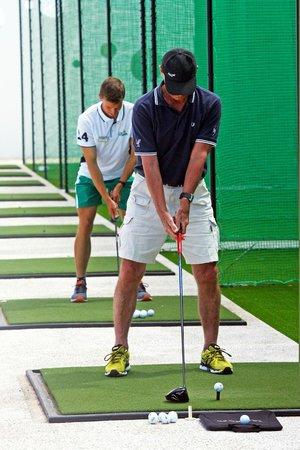 Club La Santa: Golf driving range