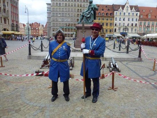 Old Town- Historic Center: Personaggi nei costumi antichi