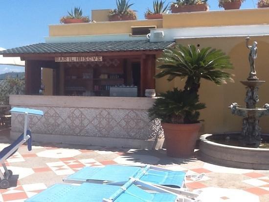 Grand Hotel De La Ville Sorrento: pool bar