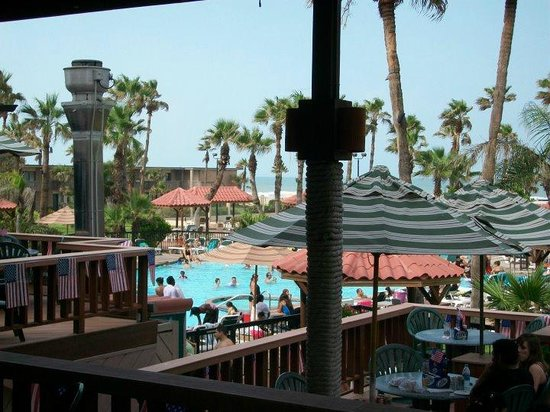 Isla Grand Beach Resort : View from The Hammerhead deck.