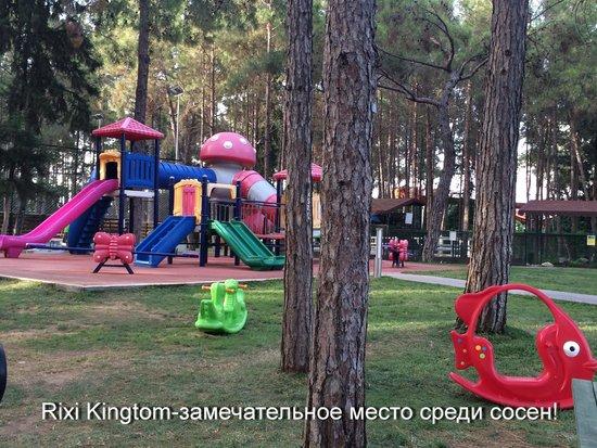 Rixos Sungate Hotel: Отличное место для прогулки с детьми