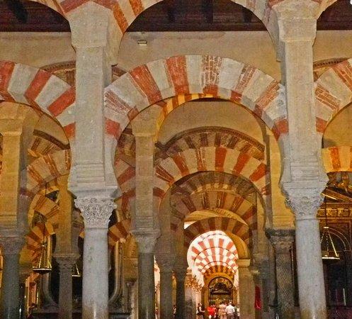 Moschee-Kathedrale (Mezquita de Córdoba): Unzählige Säulen