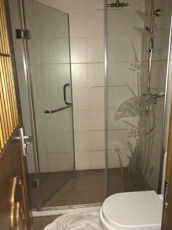 Tang Dynasty Art Garden Hotel: Shower