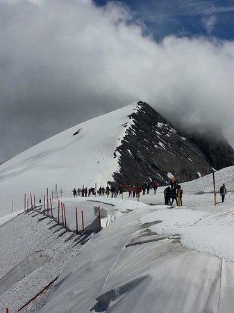 Mount Titlis: Der Weg zur Spitze