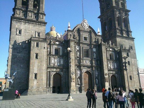 Catedral Basilica de Puebla : Catedral exterior