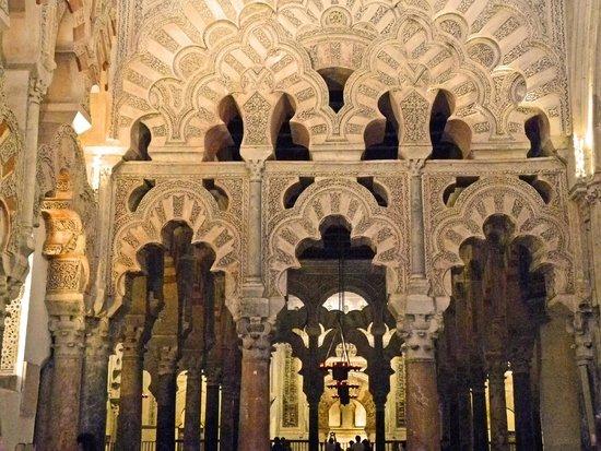Moschee-Kathedrale (Mezquita de Córdoba): Herrliche Stuckarbeiten