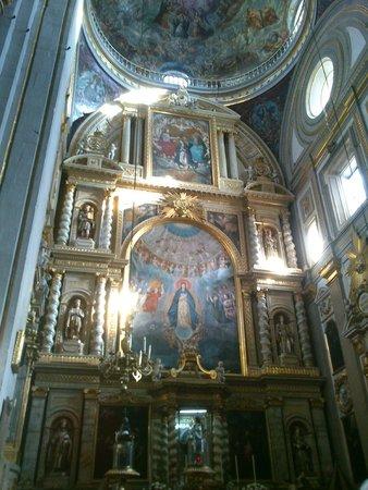 Catedral Basilica de Puebla : Interior de Catedral Puebla
