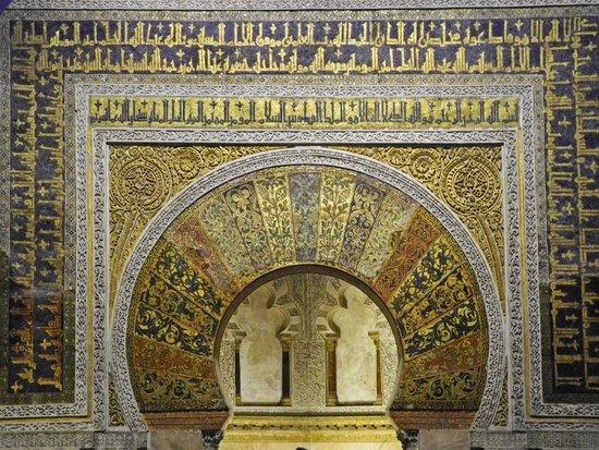 Moschee-Kathedrale (Mezquita de Córdoba): Der mihrab