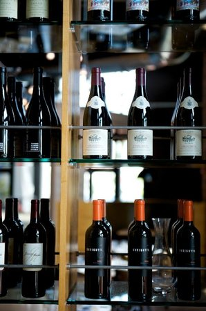 Harlan Social: Wine Shelf