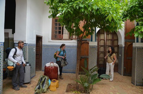 Equity Point Marrakech Hostel : one of the central areas