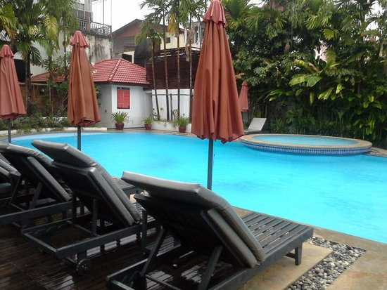 Memoire d' Angkor Boutique Hotel: Great pool