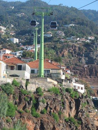 Téléphérique de Funchal : Cable Car from the bottom station
