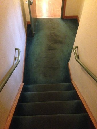 Country Inn & Suites By Carlson, Charlotte - I-85 Airport: Carpet in stairs