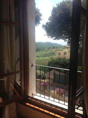 Villa Poggiano: View from our suite