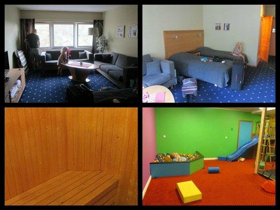 Inredning källare lekrum : Familjerum med bastu, lekrum i källaren! - Bild frÃ¥n Hotell ...