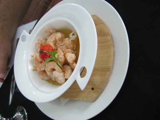 El Rum Rum de la Habana: Fantastic prawns