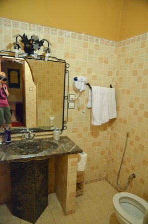 Riad Nezha: bathroom