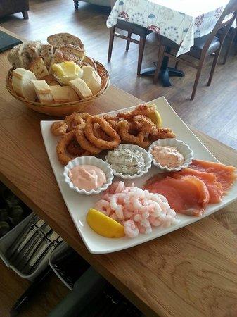 Fay's Bistro: Sea food platter
