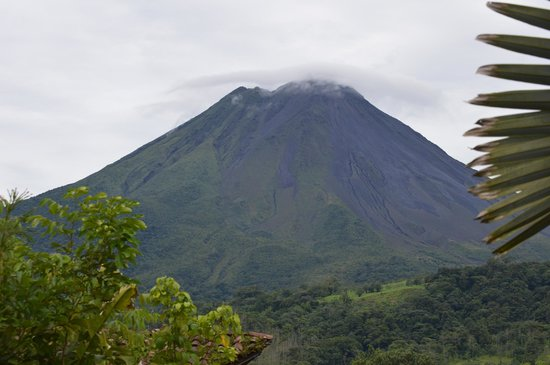 Hotel Mountain Paradise: view of Arenal Volcano