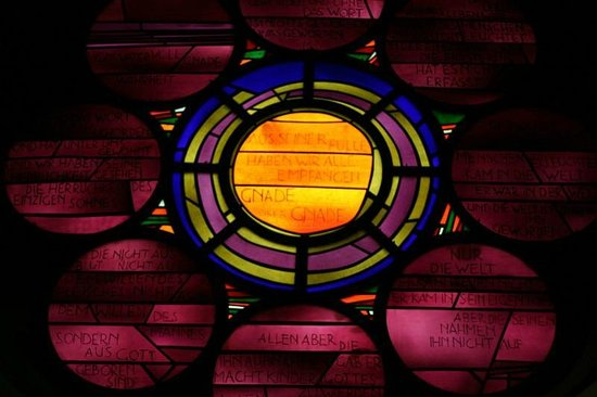 Saint Gereon's Basilica : Modern Stained Glass