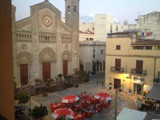 Hotel Centrale: Il panorama dal ristorante dell'Hotel Bagheria