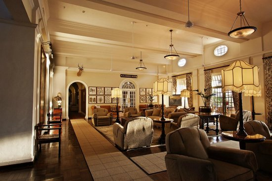 The Victoria Falls Hotel: Entrance to the Bulawayo Room
