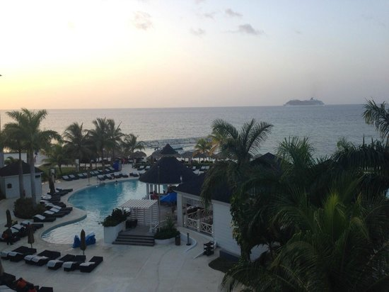 Secrets St. James Montego Bay: view from the 4th floor