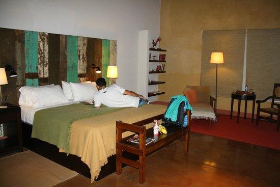 Don Puerto Bemberg Lodge: amplias y muy bien decoradas