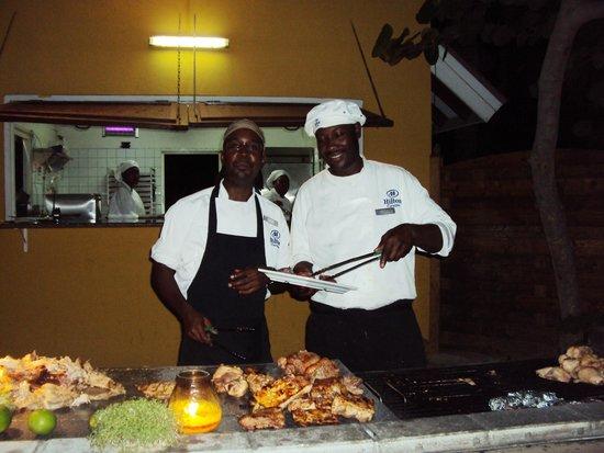 Hilton Curacao: Los Chef Estrellas de la noche