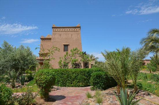 Sawadi : The riad and grounds