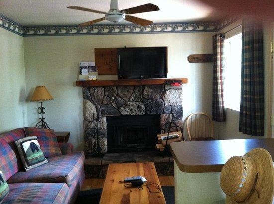 Hillcrest Lodge : Cozy Living Space